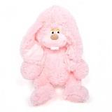Розовый меховой заяц