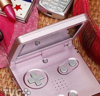 Розовый Nintendo GameBoy Advance
