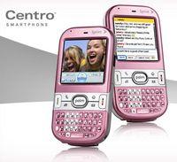 Розовый смартфон