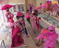 Розовый Harlem Shake